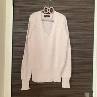 スパイラルガール(SPIRAL GIRL)のスパイラルガール ピンク  ニット  シンプル 美品(ニット/セーター)