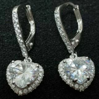 SWAROVSKI - f60❇️ナイアガラ❇️純銀製 ダイヤモンドキュービックジルコニア ピアス