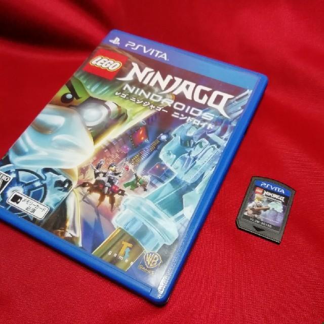 PlayStation Vita(プレイステーションヴィータ)のVita レゴ (R) ニンジャゴー ニンドロイド エンタメ/ホビーのゲームソフト/ゲーム機本体(携帯用ゲームソフト)の商品写真