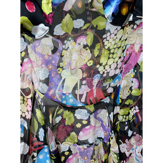 TSUMORI CHISATO - ツモリチサト 新品 シルク マッシュルームガール 定価5万位当時完売 スカート