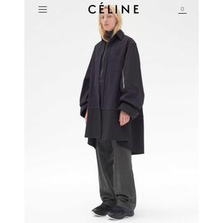 セリーヌ(celine)の定価18万 celine セリーヌ  オーバーサイズ シャツ コート(ロングコート)