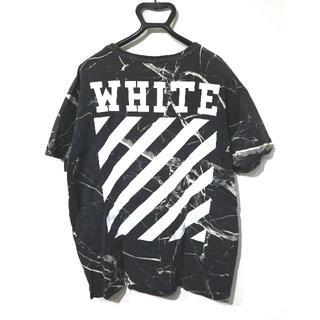 OFF-WHITE - 正規品 オフホワイト OFF WHITE Tシャツ ロゴ フォト 16SS レア