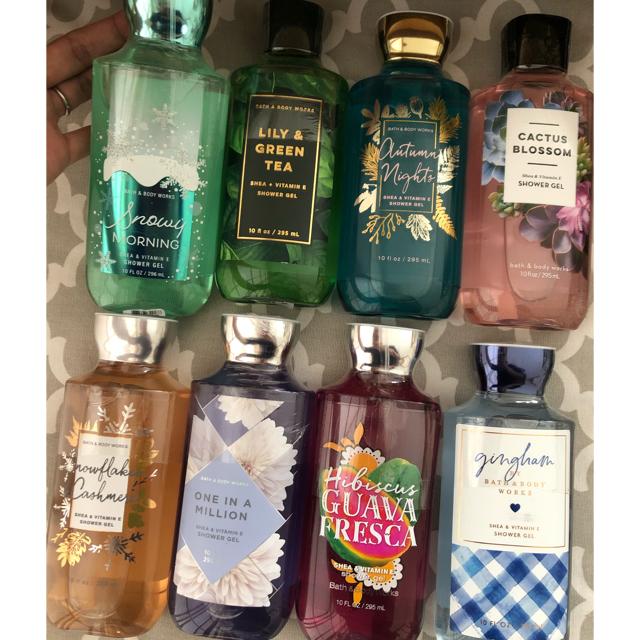 Bath & Body Works(バスアンドボディーワークス)のシャワージェル2点セット コスメ/美容のボディケア(ボディソープ / 石鹸)の商品写真