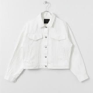 KBF - デニムジャケット Gジャン ホワイトデニム ホワイトデニムジャケット