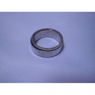 D54f93●高品質ステンレス 指輪 リング 18号●(リング(指輪))