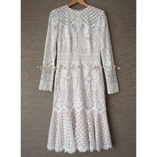 TADASHI SHOJI - 新作タダシTADASHI☆アールデコ刺繍レースドレスウェディングドレス