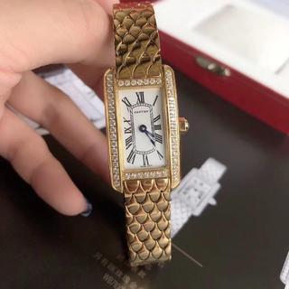 Cartier - クォーツ 腕時計 キラキラ カルティエ レディース ファッション