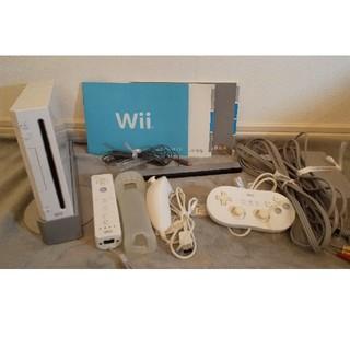 Wii - Wii本体一式+クラコン(中古品)