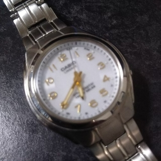 カシオ(CASIO)のカシオ ソーラー電波腕時計 リニエージ(腕時計)