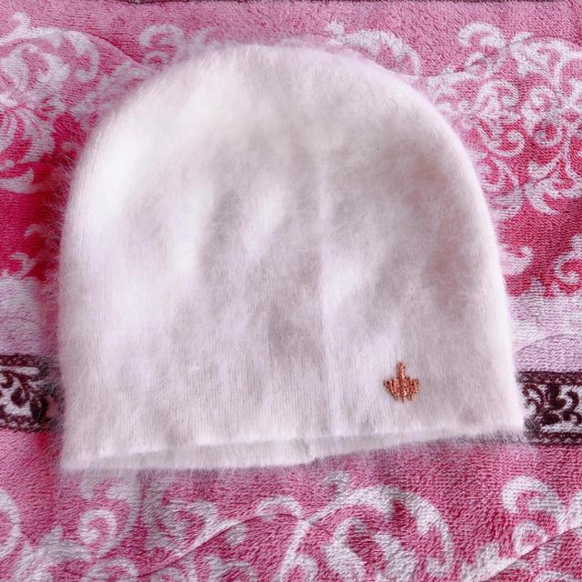 Rady(レディー)のrady ニット帽 白 レディースの帽子(ニット帽/ビーニー)の商品写真
