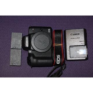 Canon - 【充電池2個】Canon キヤノン EOS KISS M ブラック 黒 ボディ