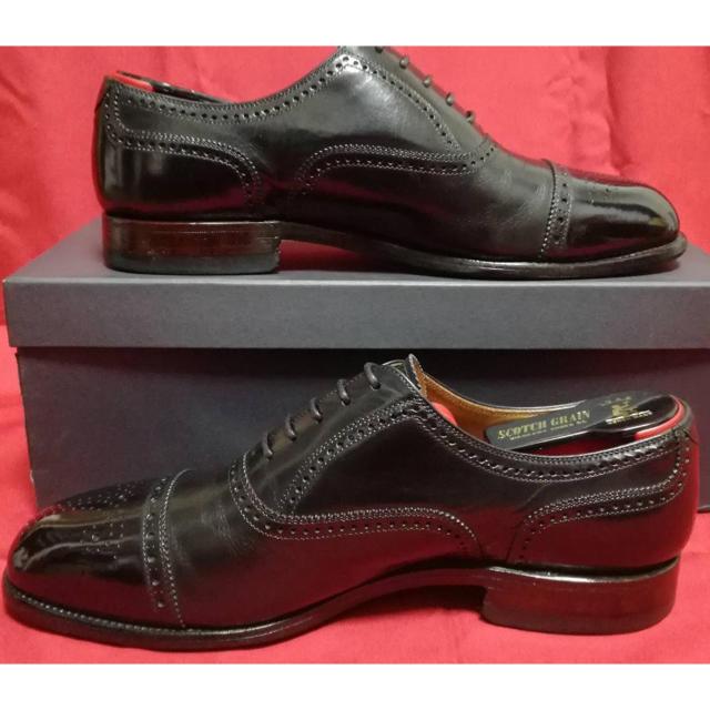 REGAL(リーガル)のスコッチグレイン セミブローグ 24.5 メンズの靴/シューズ(ドレス/ビジネス)の商品写真