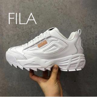 フィラ(FILA)のFILA 19AW 新作 厚底 スニーカー(スニーカー)
