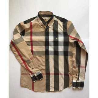 BURBERRY - イギリス製 バーバリー ノヴァチェックシャツ