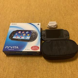 プレイステーションヴィータ(PlayStation Vita)のSONY PlayStationVITA 本体  PCH-1100 AA01(携帯用ゲーム機本体)