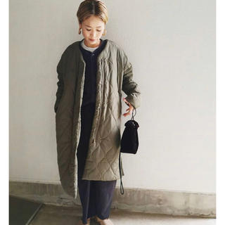 TODAYFUL - ulu select  Sidezip quiltingcort ウル