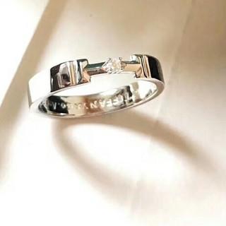 Tiffany & Co. - 素敵♥新品 TIFFANY & Co. リング(指輪) 刻印 ダイヤ