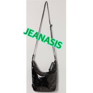 JEANASIS - 【新品未使用】JEANASIS ボンディングミニサコッシュ ショルダーバッグ