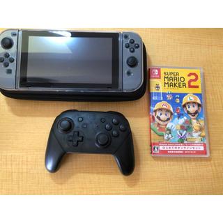Nintendo Switch - Nintendo Switch、マリオメーカー2、プロコンセット