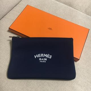 エルメス(Hermes)のエルメス ネオバンMM ネイビー 新品正規品(セカンドバッグ/クラッチバッグ)