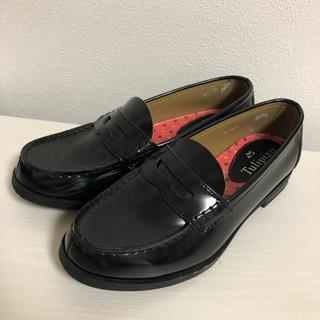 ハルタ(HARUTA)のtulipian ブラック革靴ローファー (ローファー/革靴)
