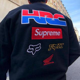 シュプリーム(Supreme)の未開封 XL Supreme Honda Fox Racing Crewneck(スウェット)