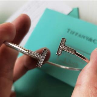 Tiffany & Co. - 大幅値引き中✨池田エライザ.木下優樹菜.武井咲.ブレスレット✨Tワイヤー✨
