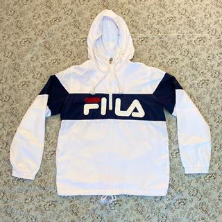 FILA - FILA 白ジャケット Sサイズ