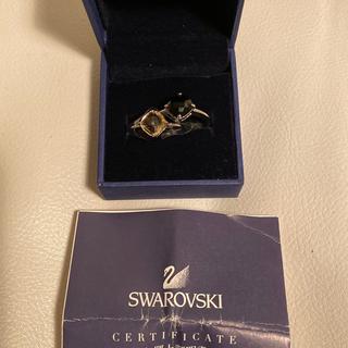 スワロフスキー(SWAROVSKI)のスワロフスキー  Lea Vintage Rose 2連リング(リング(指輪))