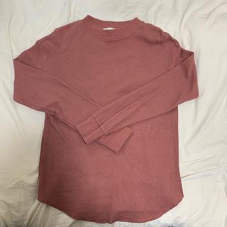 ジーユー(GU)のGU ワッフルロングスリープ(Tシャツ(長袖/七分))