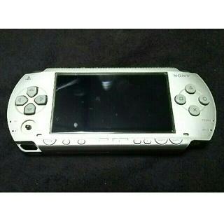 プレイステーション(PlayStation)のジャンク品 PSP1000 シルバー(携帯用ゲーム機本体)