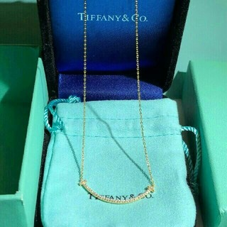 Tiffany & Co. - TIFFANY & Co.  ティファニーT スマイル  ネックレス