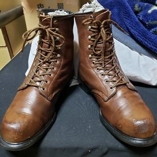 REDWING - ビンテージ 羽タグ REDWING レッドウイング 9.5D 編み上げ ブーツ