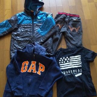 ギャップ(GAP)のGAPパーカー、ブルゾン、EDWINパンツ、tシャツ セット(ジャケット/上着)