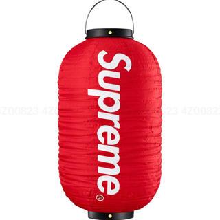 シュプリーム(Supreme)のSupreme Hanging Lantern RED ステッカー付き(ライト/ランタン)