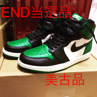 NIKE - NIKE AIR JORDAN1 OG PINE GREEN 27.0 us9