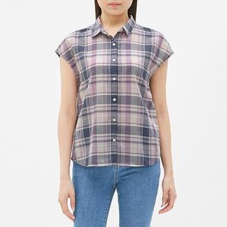 GU - GU マドラスチェックシャツ