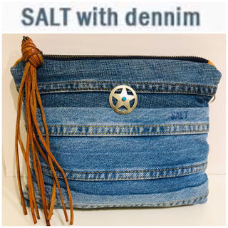 Ron Herman - 激レア⭐️ SALT with dennim コンチョ デニム クラッチ バッグ