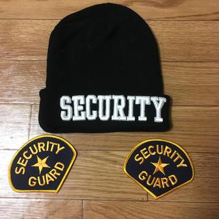 ロスコ(ROTHCO)のセキリュティ、ニット帽、アイロンパッチ二枚(襟章)