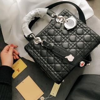 Dior - 新品 Dior ディオール  ハンドバッグ ショルダーバッグ トートバック  リ