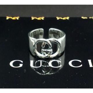Gucci - Gucci グッチ 新品 サイズ調節可能 シルバーノベルティリング