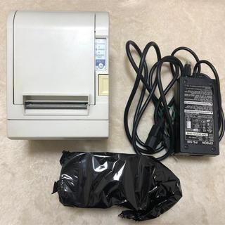 エプソン(EPSON)の【動作品】EPSON レシートプリンターTM88-Ⅲ USB接続 80cm幅(店舗用品)