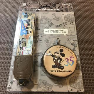 Disney - ディズニー 一眼レフカメラ用ストラップ 35周年