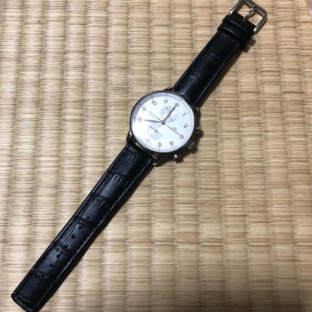 IWC(インターナショナルウォッチカンパニー)のポルトギーゼ クロノグラフ レディースのファッション小物(腕時計)の商品写真