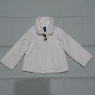 ベビーギャップ(babyGAP)のGAPギャップベビーふわふわジャケット100㎝女の子(ジャケット/上着)