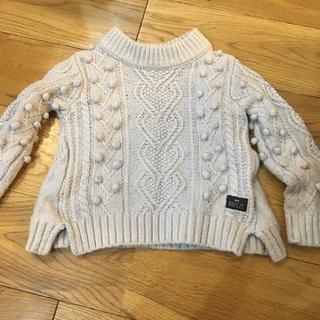 ブリーズ(BREEZE)のセーター BREEZE 80 女の子 子供服(ニット/セーター)