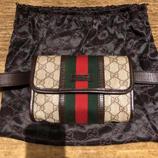 Gucci - GUCCI  グッチ  ウエストバッグ  美品