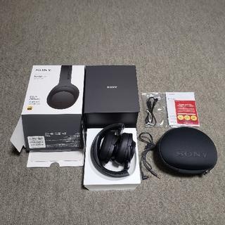 SONY - SONY MDR-100ABN ブラックカラー