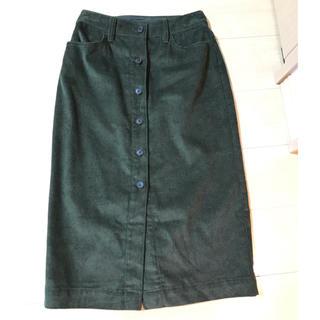 ギャップ(GAP)の2019年11月購入!新品!GAPレディーススリットスカート サイズO(ロングスカート)