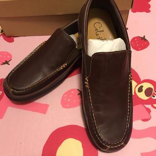 コールハーン(Cole Haan)のコールハーン 革靴 ブラウン8ハーフM 未使用 25センチ(ドレス/ビジネス)